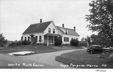 1930's White Rock Farm Cape Porpoise, Maine Old Autos Original Negative for Sale