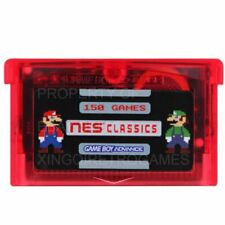 150 in 1 NES Games for Nintendo Game Boy Advance GBA SP NDS Mario SAVE STATES EN