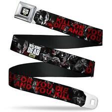 """The Walking Dead """"Kill or You Die"""" Seatbelt Belt"""