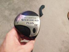 Callaway Golf Big Bertha Steel Head Plus RH 11 degree Driver w/ Head cover