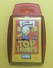 The Simpsons Top Trumps Card Game Sealed Deck 2003 Parker Bros Brothers
