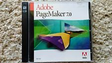Adobe PageMaker 7.0 Full Version for Windows Complete Retail Package
