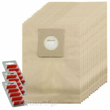 15 X Sacchetti per Aspirapolvere per Nilfisk Power P10 P12 P20 P40 HOOVER SACCHETTO + FRESCO