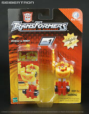 Tiny Tins R.E.V. Transformers Robots In Disguise RID Spychangers REV 2003 New