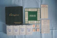 Calypso De La Rue card game complete England Bridge Canasta VGUC