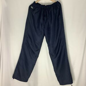 LACOSTE Blue Tracksuit Jersey Bottoms Mens Casual Trousers Joggers Size 7