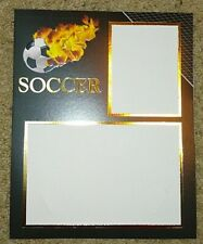 Soccer Photo Frame Picture Collage Album