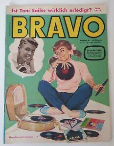 Bravo 46 vom 11.11.1958 Peter Kraus / Bill Haley / Mel Ferrer / Lollo (B1652)