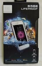 New! LifeProof Fre Series Waterproof Case for iPhone 6 Plus/6s Plus - White/Gray