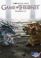Game of Thrones: The Complete Seasons 1-7 (DVD, 2017)