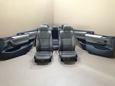 BMW F25 X3 Leather Seats Sport Interior Sitze Lederausstattung NEVADA BRAUN