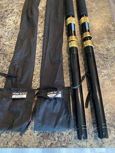 (2) Penn International TUNA STICK 2260 ARA 6' 50-130lb Stand Up fishing Rod SET