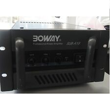 BOWAY SUB-A18 Professional Power Amplifier mountable-rack  Vintage Rare