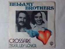 "BELLAMY BROTHERS Crossfire 7"" ITALY UNIQUE RARISSIMO"