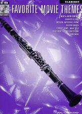 Favorite Movie Themes Clarinet Sheet Music BOOK &CD NEW