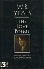 THE LOVE POEMS - W.B. YEATS (1990 , Edited and annotated by A. NOrman Jeffares)