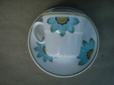 Noritake Progression Daisy Cup and Saucer JAPAN 211655