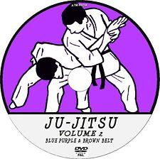 JU-JITSU INTERMEDIATE LEVEL PRACTICE LESSON DVD 2 BLUE & BROWN BELT TUTORIAL NEW