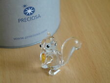Preciosa Squirrel Figurine