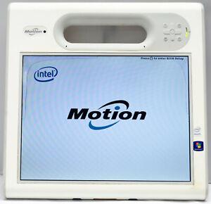 Motion Computing C5v i5-560UM 4GB 64GB SSD Touch Camera Barcode Reader