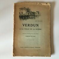 Ww1 Edmond Trailblazer Verdun De La Víspera de La Guerra Pastor-Retorno 1917