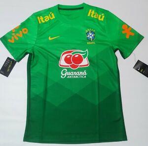 Brazil Training Jersey 2020/ 2021 Green Training Shirt Nike Brasil
