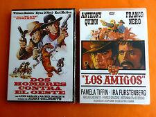 DOS HOMBRES CONTRA EL OESTE / LOS AMIGOS - 2 dvd Western de los 70 - Precintada