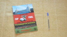 League Cup Home Team Final Football Programmes