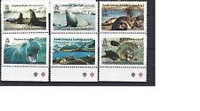 FALKLANDS ISLANDS SOUTH GEORGIA&SANWICH ISLANDS SG 203-208 (1991) postfris