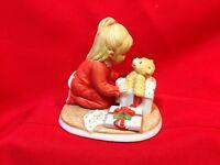 Lenox Teddy's First Christmas Porcelain Figurine Teddy and Tiny Tots Japan