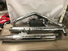 uSED 93-04 Kawasaki VN1500L Nomad Complete Stock Exhaust System 102817-09