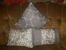 decorative bed pillow set
