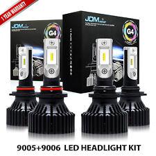 JDM astar 9005+9006 LED Headlight Kit Bulb for GMC Sierra 1500 2500 HD 2001-2006