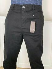 ARMANI EXCHANGE Authentic Zip Pocket Elastic Waist Slim fit Pant Black NWT