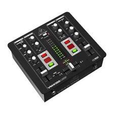BEHRINGER VMX100USB PRO MIXER DJ 2 CANALI CON CONTABATTUTE + INGRESSO MICROFONO