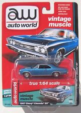 AUTO WORLD 2017 VINTAGE MUSCLE 1967 CHEVY CHEVELLE SS 1 OF 1,800 HOBBY EXCUSIVE