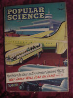 POPULAR SCIENCE Magazine March 1945 WWII JAPAN will lose on land