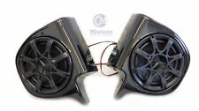 "VIVID BLACK 6.5"" SPEAKER PODS W/SPEAKERS 4 HARLEY TOURING VENTED LOWER FAIRING"