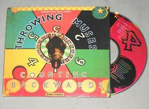 THROWING MUSES Counting Backwards/Same Sun/Amazing Grace CD US maxi single NM/EX