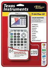 Texas Instruments Ti-84 Plus Ce [Graphing Calculator]-(White)