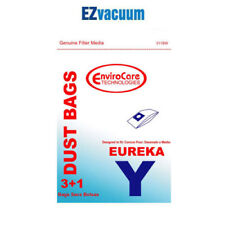 6 Eureka Type Y Upright Vacuum Cleaner Bags +2 Filters # 58183A