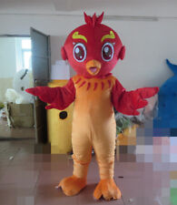 Flaming Phoenix Mascot Costume Adults Animal Party Dress Parade Cosplay Outfits