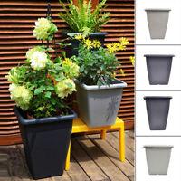 Large Resin Flower Pot Vase Planter Holder Plants Stand Home Garden Decorations