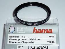 Nahlinse +2   46mm  HAMA