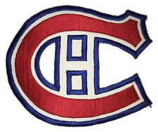 "1970'S MONTREAL CANADIENS NHL HOCKEY VINTAGE 7.25"" TEAM LOGO PATCH"