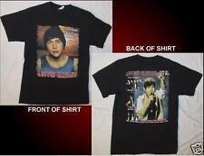 AUSTIN MAHONE Live On Tour 2014 Size Medium Black T-Shirt