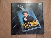 CLIFF RICHARD * ACCESS ALL AREAS * TOUR PROGRAMME AND TICKET STUB 1992