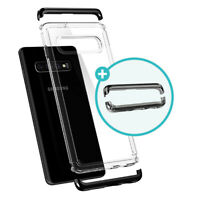 Galaxy S10, S10 Plus, S10e Spigen® [Neo Hybrid NC] Bumper Case (+Extra PC Frame)
