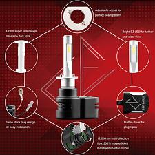 LED EAGLE 360° Adjustable 9900LM 60W LED Headlight Kit 1 Pair - H1, 4300K