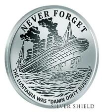 """2017 Silver Shield DIRTY BUSINESS - 1 oz Rev Proof - #1 in """"Never Forget"""" Series"""